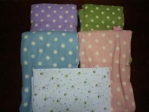 Fabric House Iseki フリースセットとダブルガーゼ