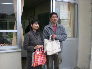 津軽石小学校 校長先生と千葉のおっちゃん