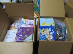 山田幼稚園へ 保育園セットとタオル