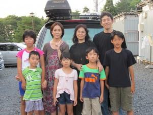 家族旅行村仮設住宅で