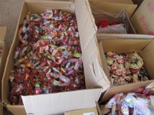 キャンディリース 900個!