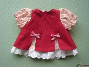 お人形用ドレス nockyさん作