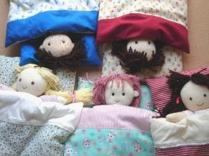 nockyさん作 かわいい抱き人形たち