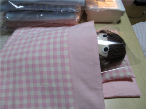 手作り組布団