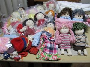 ごっこ便 手作り人形