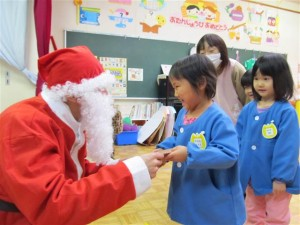 クリスマス便 山田町大浦保育園