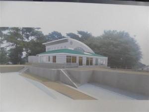 山田町大沢保育園 新園舎完成予想図