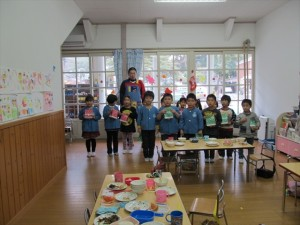 クリスマス便 山田町 第一保育所