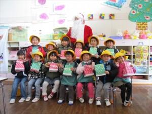 クリスマス便 山田町 わかば幼稚園