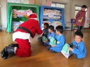 クリスマス便 山田町 船越保育園