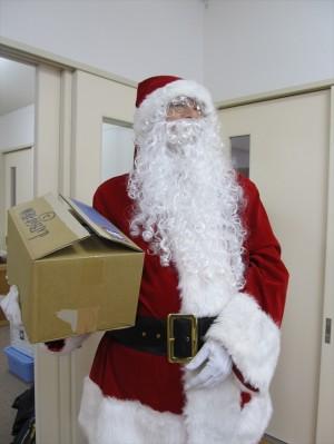 2013クリスマス便 サンタクロースのおっちゃん