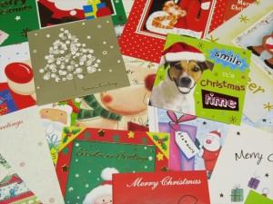 オーストラリアの使用済みクリスマスカード