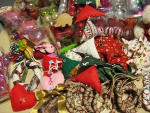 2014クリスマス便 手作りオーナメント
