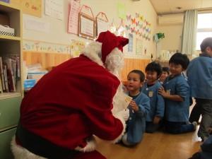 クリスマス便 山田町豊間根保育園