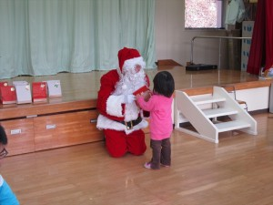 クリスマス便 山田町織笠保育園