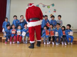 クリスマス便 山田町山田第一保育所