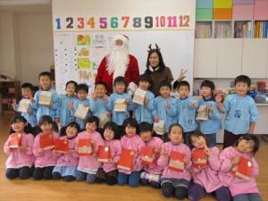 クリスマス便 山田町山田幼稚園