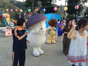 山田町公式ゆるキャラ 「たけちゃん」「まつしい」