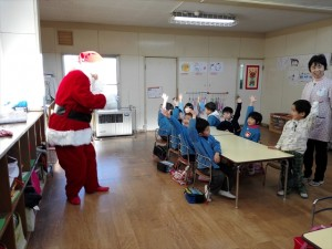 クリスマス便 山田町船越保育園