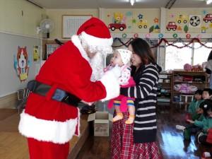クリスマス便 山田町わかば幼稚園