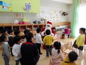クリスマス便 釜石市鵜住居保育園