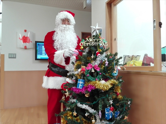 2016クリスマス便 宮古市津軽石保育園