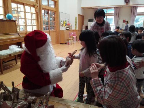2016クリスマス便 山田町大沢保育園