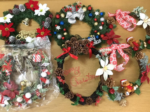 2018クリスマス便 リース