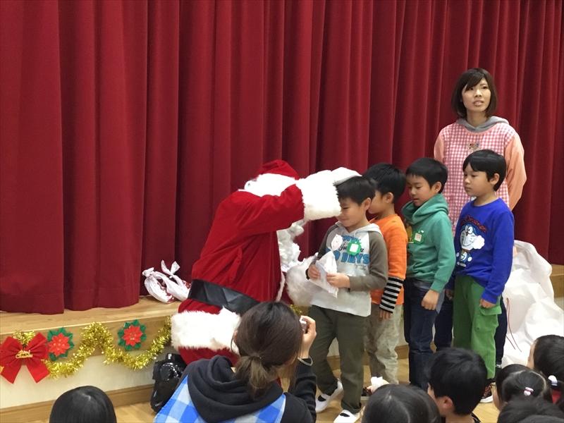 クリスマス便 宮古市津軽石保育所