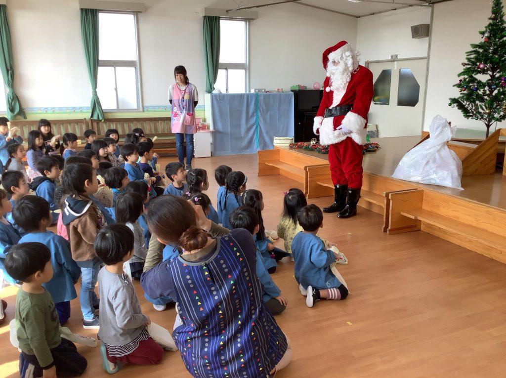 2019クリスマス便 豊間根保育園