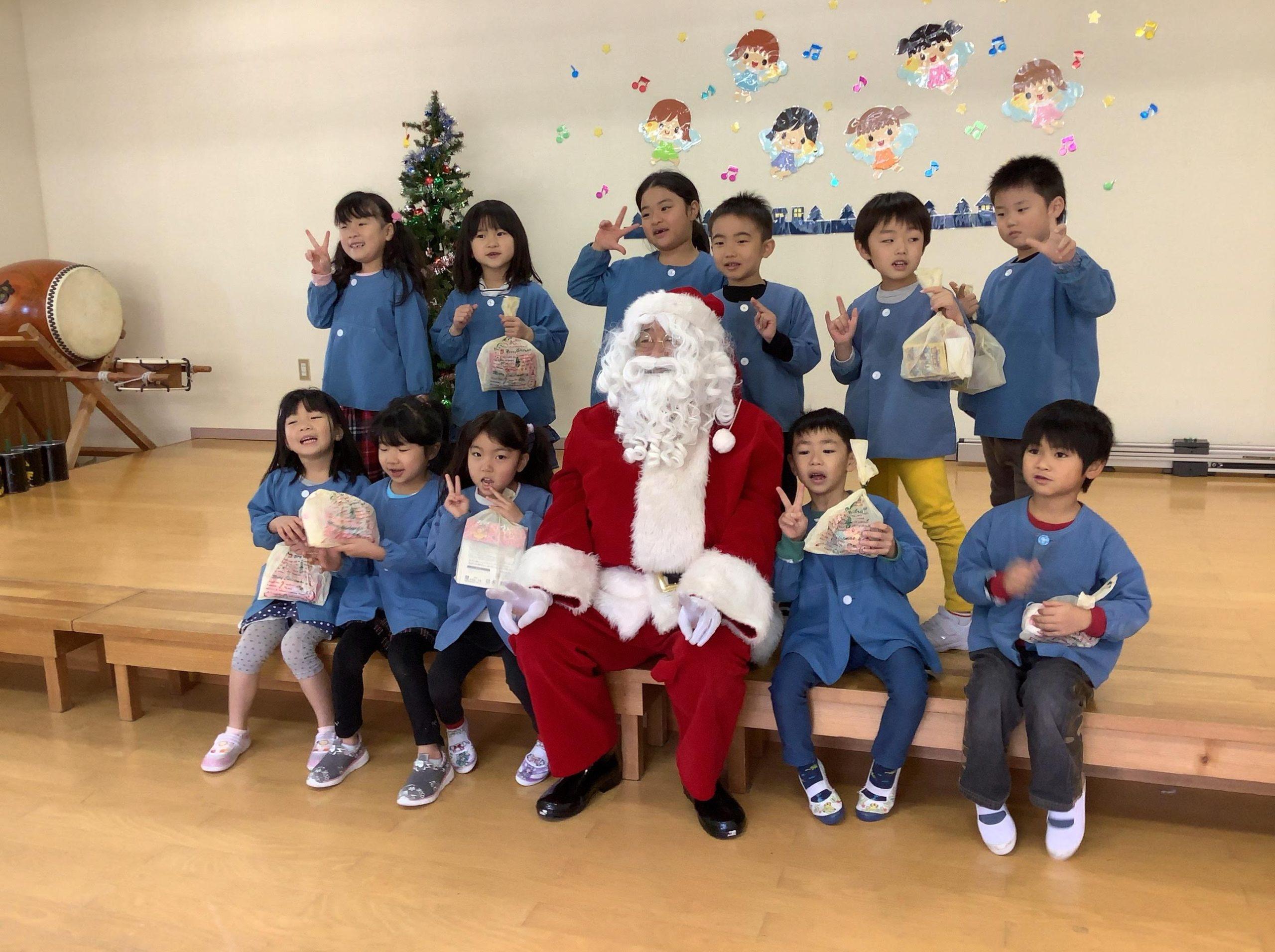 2019クリスマス便 織笠保育園